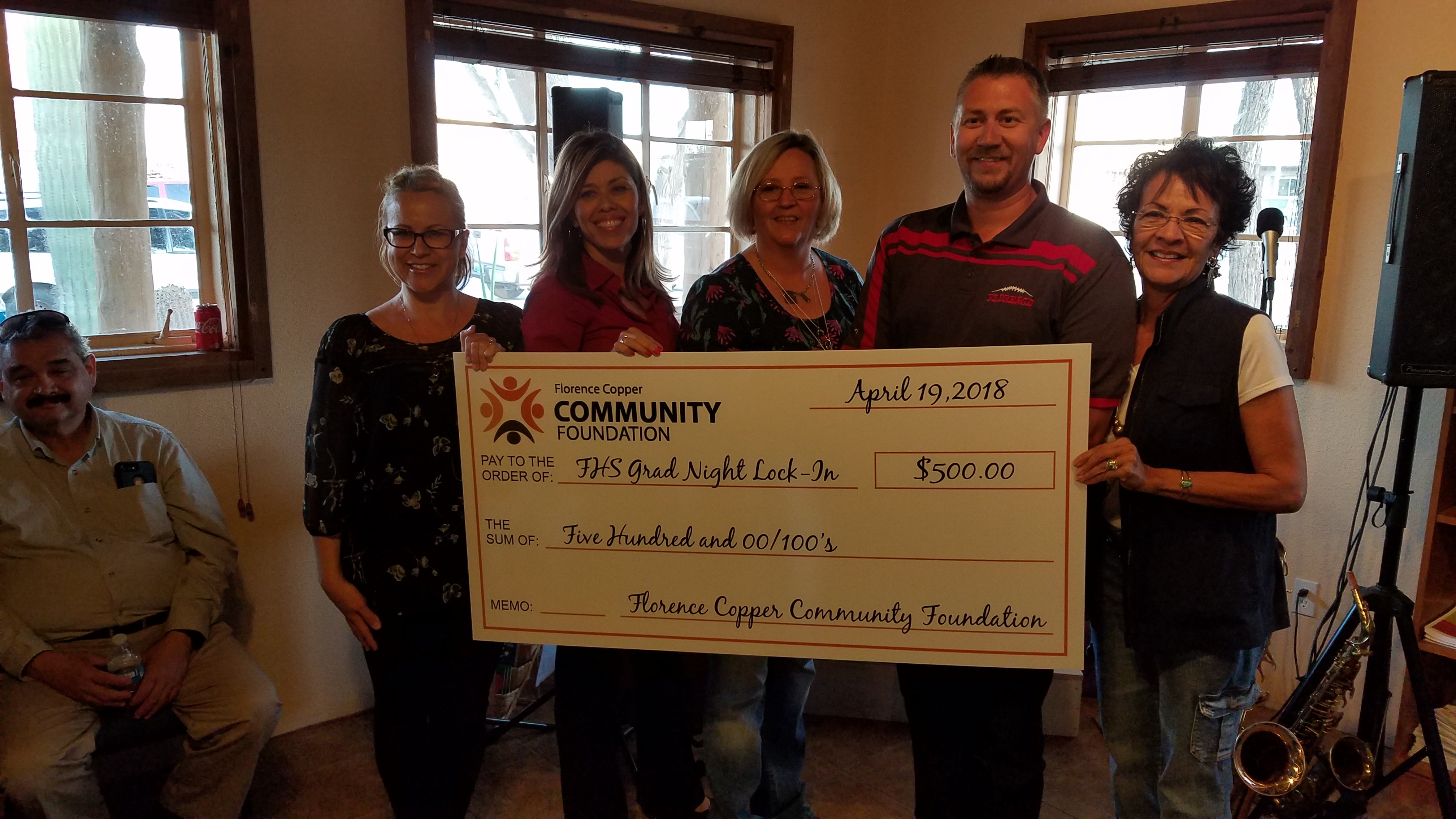 Florence Copper Community Foundation Awards $1500 in Grants to Arizona Community Theatre and Florence High School