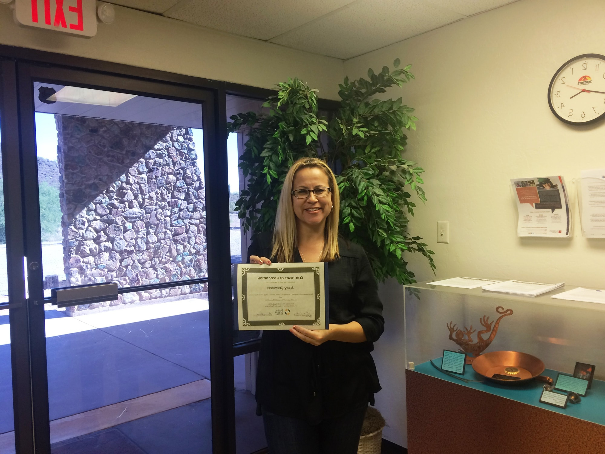Stacy Gramazio Receives Exemplary Leadership Award from CAC