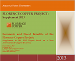 Florence Copper Project: 2013 Economic Benefit Supplement