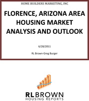 Florence, Arizona Area Housing Market Analysis and Outlook