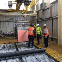 First Copper Cathode Harvest - April 24 2019