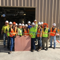 First Copper Cathode Harvest April 24, 2019