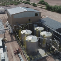 Florence Copper's Production Test Facility SX/EW Processing Plant (July 27, 2018)